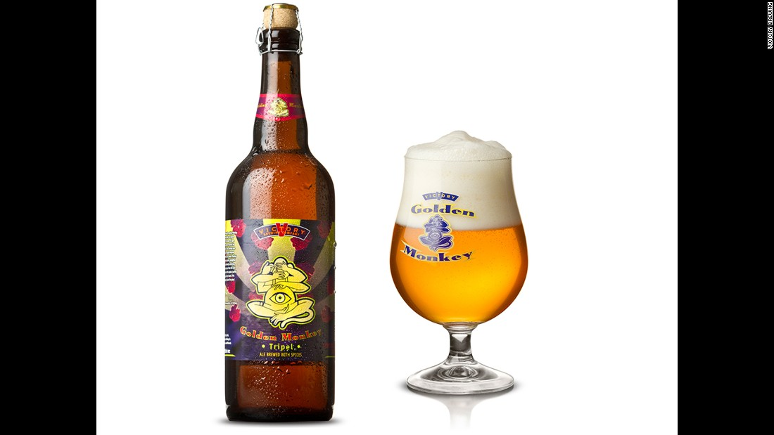 This monkey packs a punch at 9.5% ABV and is a year-round offering from Victory.