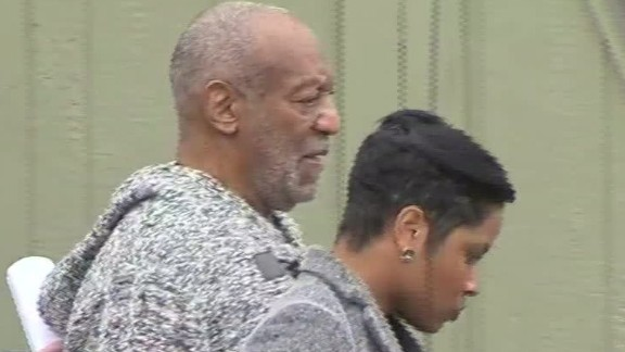 bill cosby leaves police station after booking sot_00001622.jpg