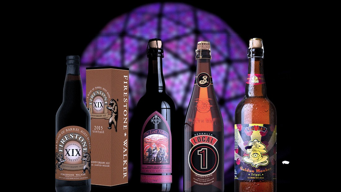 A flute of Champagne isn't the only way to toast the New Year. Here are seven craft beers that can help ring in 2016 flavorfully.