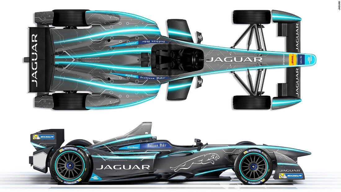 Jaguar from bond cars to electric racers cnn for Who owns jaguar motor company