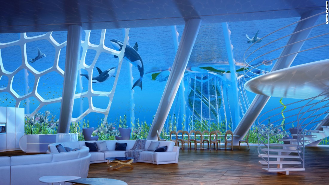 Plans For Underwater Oceanscraper Revealed