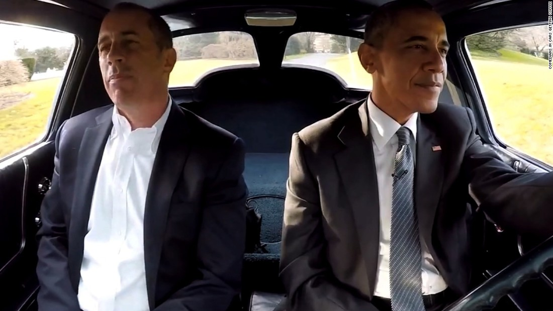 Comedians Drinking Coffee In Cars Obama