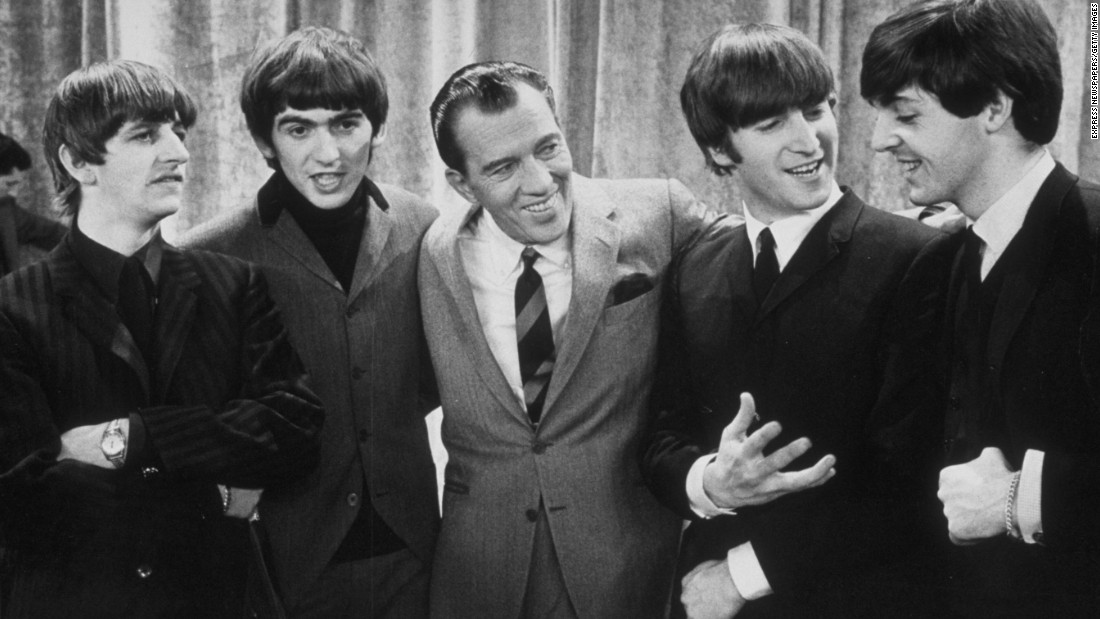 "In some ways, Ed Sullivan was an anti-TV host. The former newspaper columnist could be stiff and awkward even with more than two decades of ""The Ed Sullivan Show"" under his belt. But few could attract bigger guests, including the Beatles, who <a href=""http://www.cnn.com/2014/01/30/showbiz/celebrity-news-gossip/beatles-ed-sullivan-50-years-anniversary/"">dazzled on three successive Sullivan broadcasts</a> in February 1964 -- and the guests came first."
