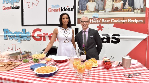 "Padma Lakshmi has a pretty delicious job. She has hosted ""Top Chef"" since 2006 and in 2015 talked about the work hazard of packing on pounds thanks to her gig. Fans crave her and In the '90s she was a host for an Italian show, ""Domenica In."""