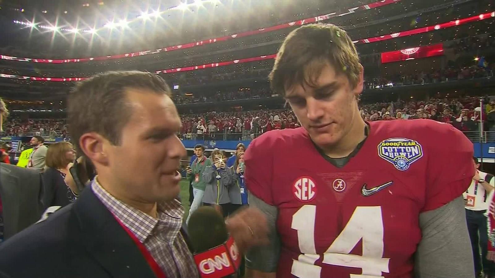 CNN speaks with Alabama's Jake Coker