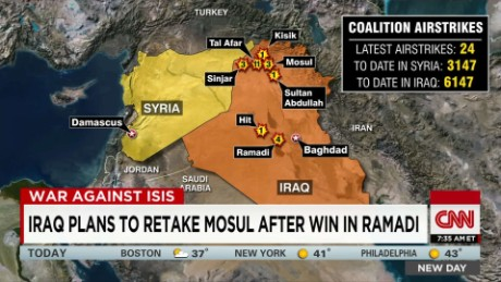 Iraq plans to retake Mosul after win in Ramadi