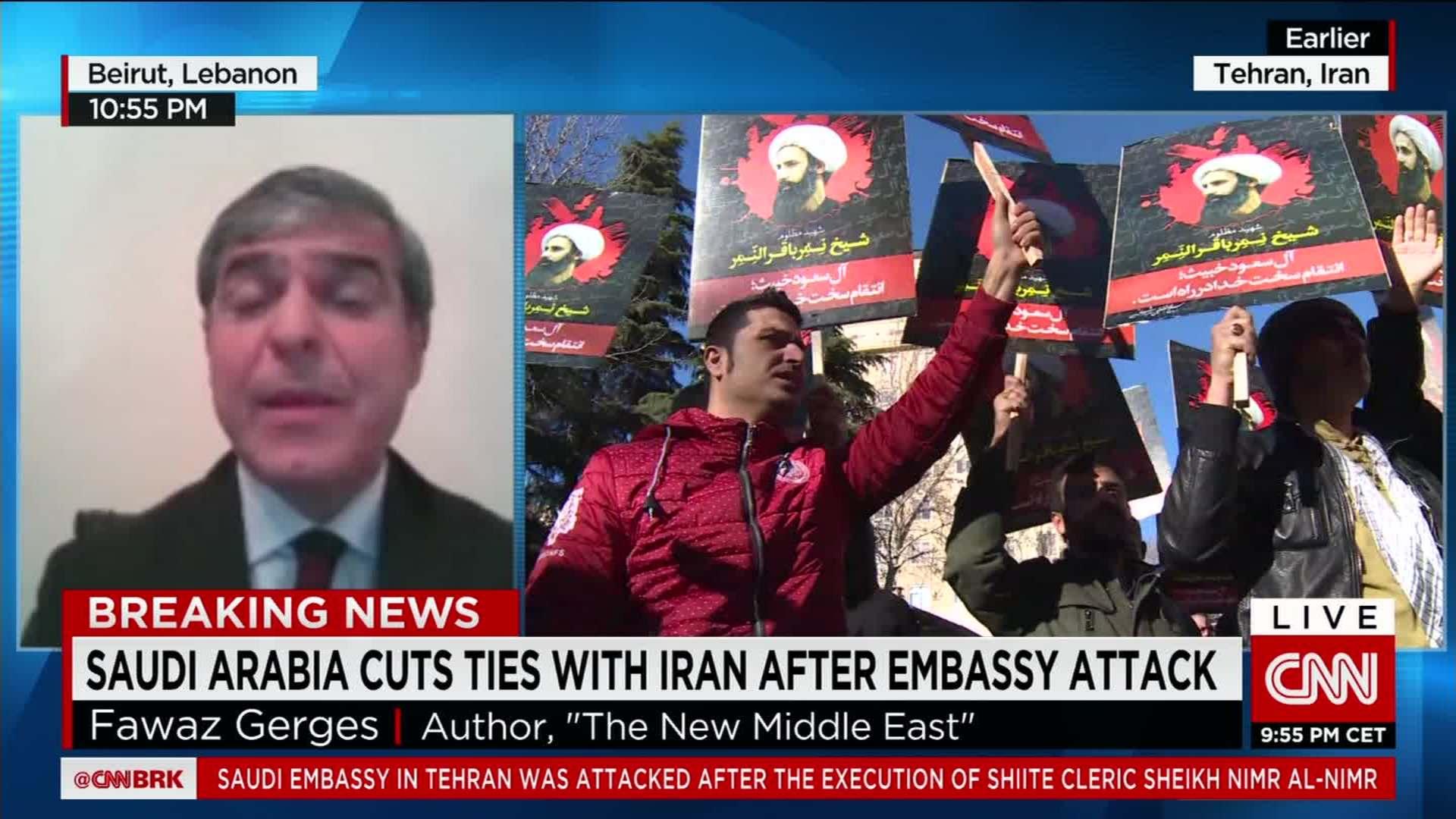 Saudi Arabia cuts ties with Iran - CNN Video