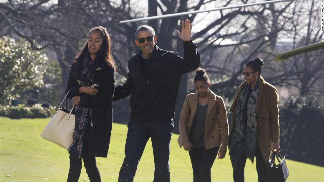 The family returns to the White House on Sunday, January 3.