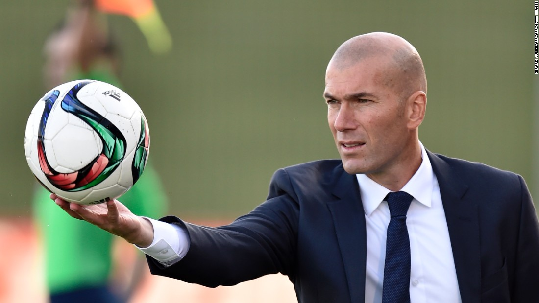 013ac6afb Zinedine Zidane  Frenchman named Real Madrid coach - CNN