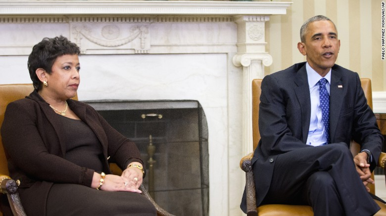 Obama,  AG Lynch discuss making executive action on guns legal