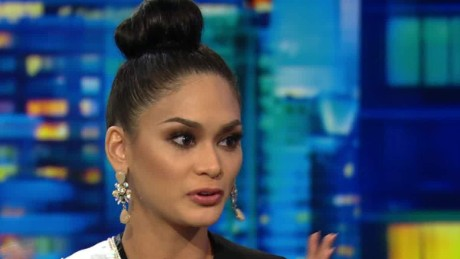 miss universe Wurtzbach Philippines Steve Harvey intv ctn lemon_00002213