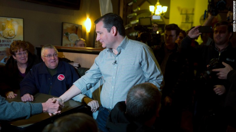 Ted Cruz invokes faith to court Iowa voters