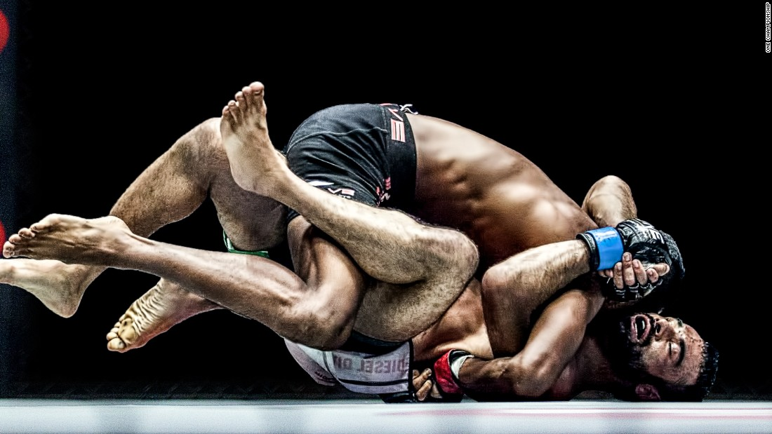 Ahmad fights in the One Championship franchise -- Asia's answer to Ultimate Fighting Championship. It's already taken Asia by storm and its popularity is rapidly expanding around the world.