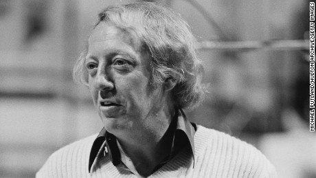 Australian music impresario Robert Stigwood at 'The Music for UNICEF Concert: A Gift of Song' benefit concert held at the United Nations General Assembly in New York City, 9th January 1979. Stigwood was the concert's organiser and executive producer. (Photo by Michael Putland/Getty Images)
