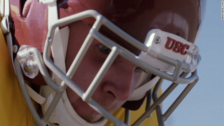 Blind football player overcomes adversity