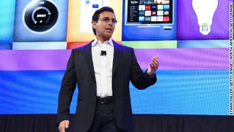 LAS VEGAS, NV - JANUARY 05:  President and CEO of Ford Motor Co. Mark Fields speaks during a press event for CES 2016 at the Mandalay Bay Convention Center on January 5, 2016 in Las Vegas, Nevada. CES, the world's largest annual consumer technology trade show, runs from January 6-9 and is expected to feature 3,600 exhibitors showing off their latest products and services to more than 150,000 attendees.  (Photo by Ethan Miller/Getty Images)