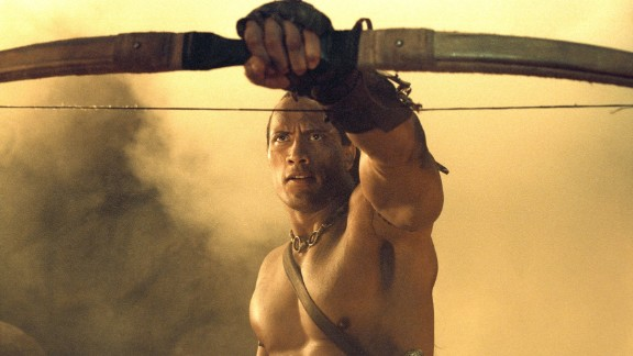 """2002's """"Mummy"""" prequel """"The Scorpion King"""" was Johnson's first leading role. It earned him a cool $5.5 million, which Fortune magazine said was believed to be the highest price tag at the time for a first-time star."""
