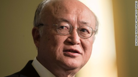 Yukiya Amano, Director General of the International Atomic Energy Agency (IAEA), has died.