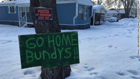 A resident in Burns, Oregon, expresses frustration over the occupation.
