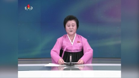 north korea Ri Chun hee new anchor orig_00000006