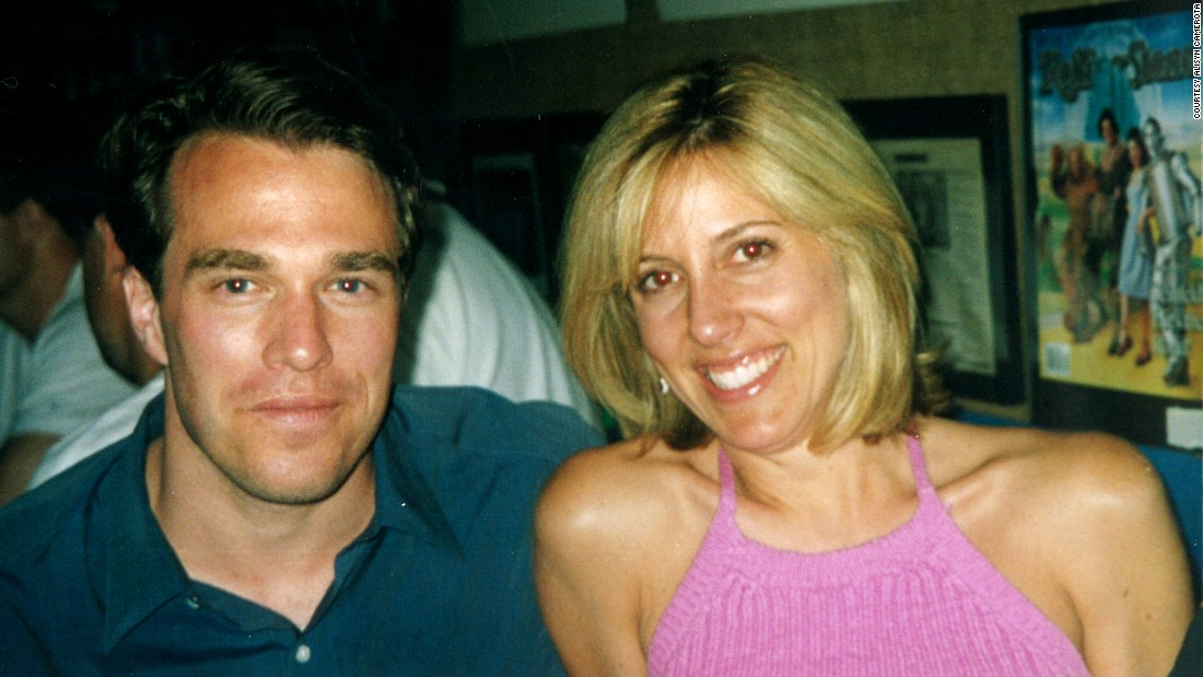 Alisyn with her future husband Tim Lewis in East Hampton, New York, in August 2000.<br />