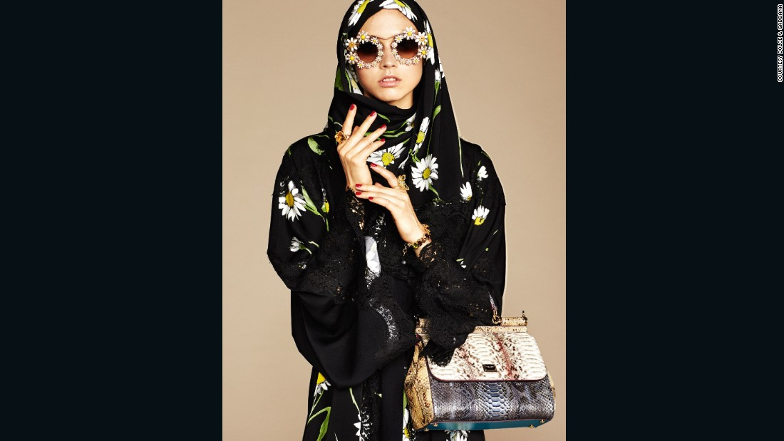 The fashion industry has embraced hijabs and abayas. For the first time, in 2015, Dolce & Gabbana  released a collection of hijabs and abayas targeting Muslim shoppers in the Middle East. Here's a look at their take on modest dressing.