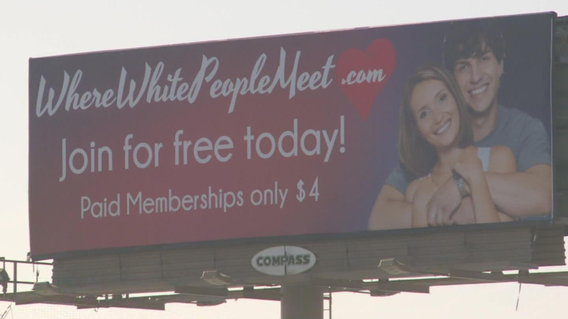 White people on black people meet