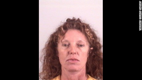 Tonya Couch was booked into jail in Tarrant County, Texas, on Thursday.