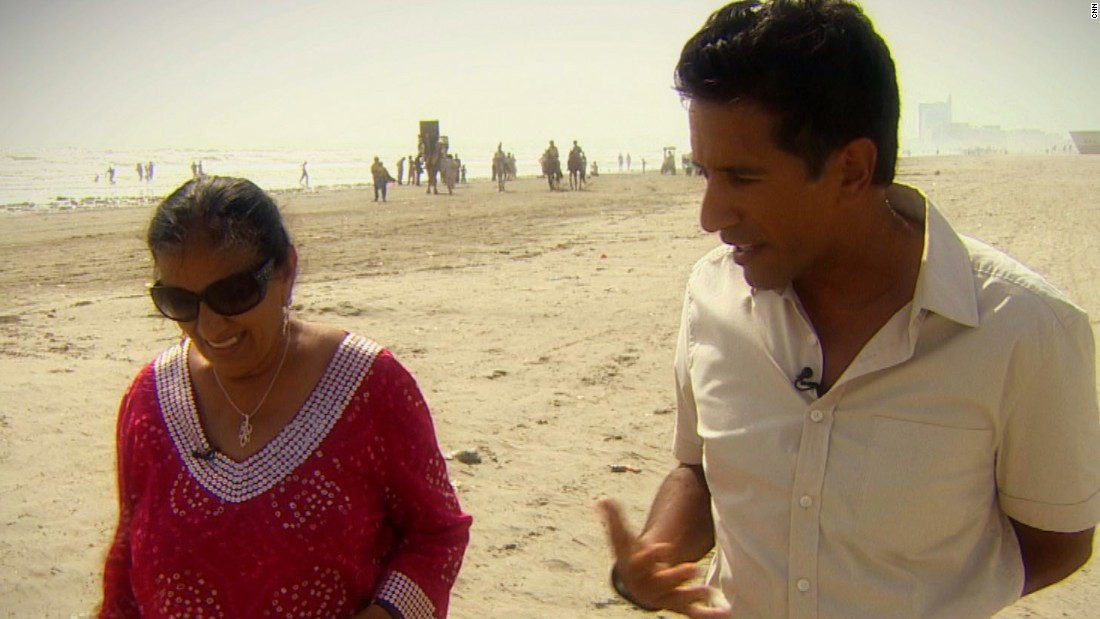 "Gupta and his mother <a href=""http://www.cnn.com/videos/bestoftv/2014/10/20/sgmd-gupta-roots-full.cnn"">visit her childhood home</a> in Pakistan in 2014."