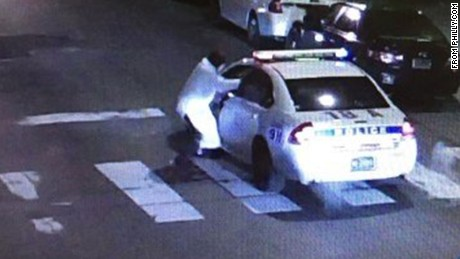 The Philadelphia Inquirer reports that this image is from surveillance video of Thursday night's shooting.