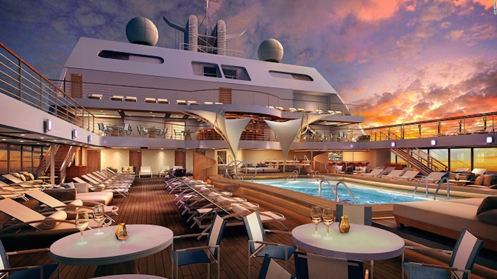 Of The Best New Cruise Ships For CNN Travel - New luxury cruise ships