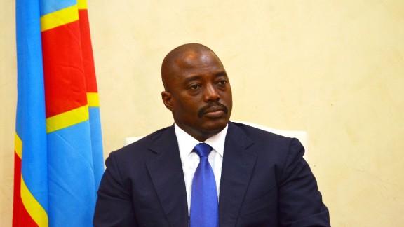 President Joseph Kabila has ruled the Congo with an iron fist since 2001.