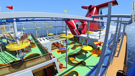 Of The Best New Cruise Ships For CNN Travel - Best cruise ship water slides