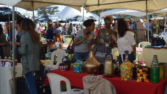 Retail experiences such as Anbar are finding a ready consumer base in the expat community and among returning members of the diaspora who make up a fair of Ethiopia