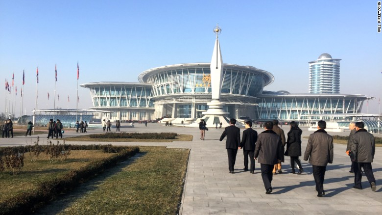 CNN tours North Korea's high-tech science center