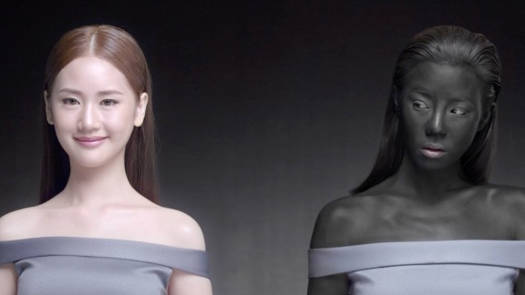 "A new Thai beauty ad has drawn backlash after suggesting ""Just being white, you will win."""