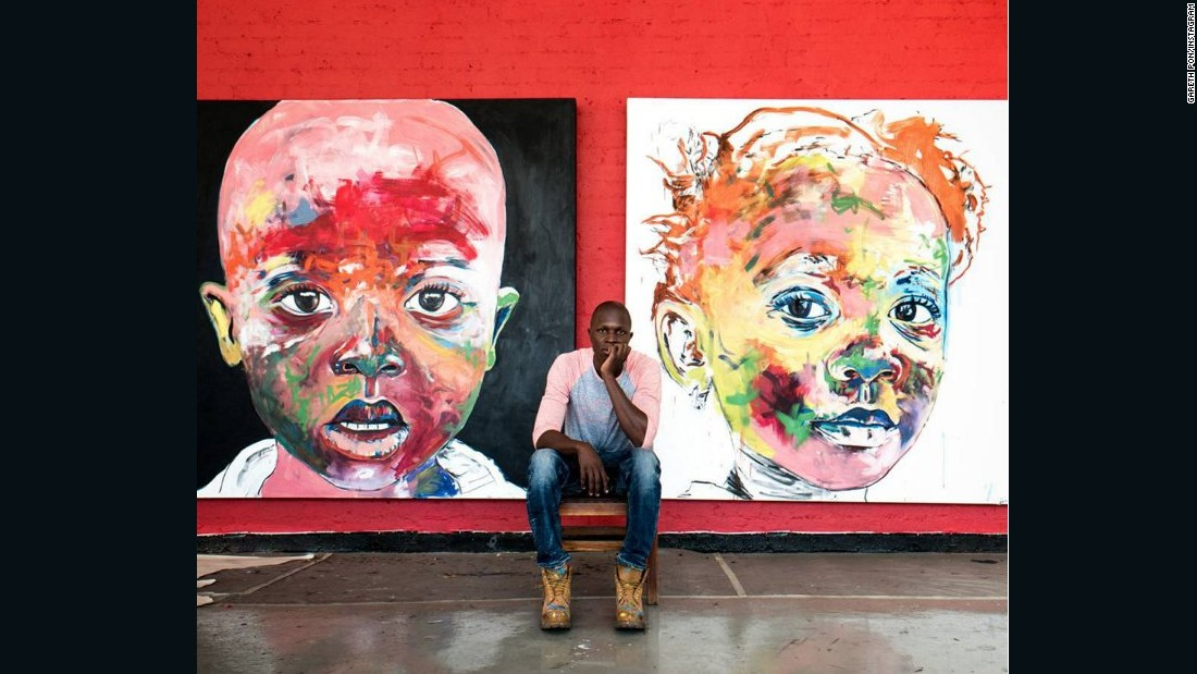 "Pon has friends in artistic places, including <a href=""https://www.instagram.com/nelsonmakamo/?hl=en"" target=""_blank"">Nelson Makamo</a> who he describes as; ""One of the most humble and amazing South African artists I've ever met. He has a heart of a gold and a deep insight into life, and with that comes many inspiring moments and great conversations."""