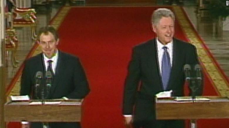 Secret Bill Clinton   Tony Blair Tapes Released