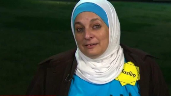 Rose Hamid is a Muslim woman  who was asked to leave a Donald Trump campaign rally.