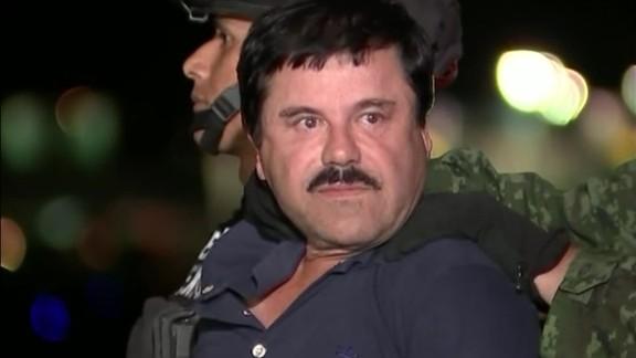 Joaquin El Chapo Guzman perp walk helicopter _00002630.jpg