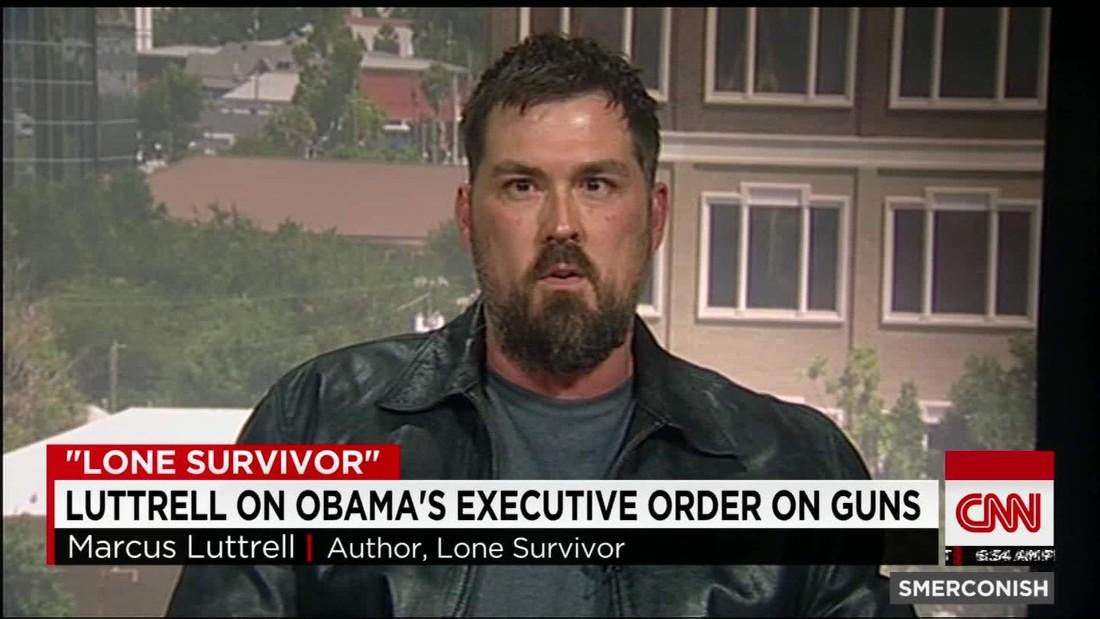 """""""Lone Survivor"""" Luttrell on Obama's Gun Law Proposals"""
