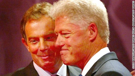 When Bill Clinton and Tony Blair dished on Putin and parenthood