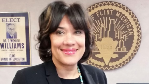 Karen Weaver was elected mayor of Flint, Michigan in 2015.