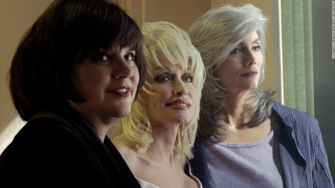 "Parton teamed up with Linda Ronstadt, left, and Emmylou Harris to form a powerhouse trio in 1987. The album they recorded, ""Trio,"" sold more than 4 million copies. A second ""Trio"" album was released in 1999."