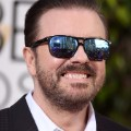 golden globes red carpet 2016 - Ricky Gervais