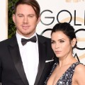 golden globes red carpet 2016 - Channing and Jenna Dewan Tatum