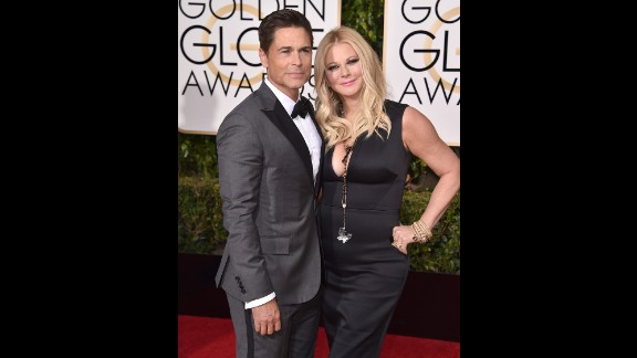 Rob Lowe and his wife, Sheryl Berkoff
