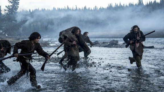 "Best cinematography: ""The Revenant"" (Emmanuel Lubezki)"