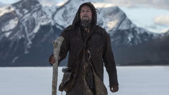 """Best actor: Leonardo DiCaprio, """"The Revenant"""""""