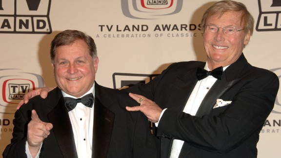 "Burt Ward and Adam West of ""Batman""at the 2006 TV Land Awards."